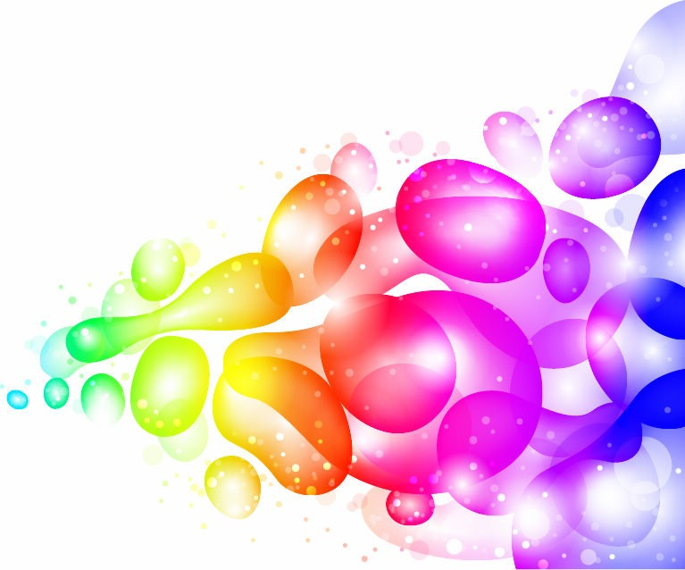 Clipart without background color graphic transparent Color Abstract with Transparent Bubbles and Drops Vector Background ... graphic transparent