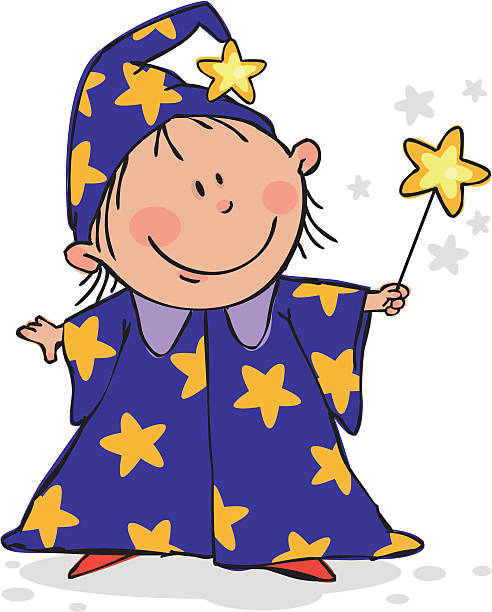 Wizard clipart for kids