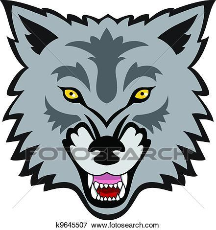 Clipart wolf face svg library Wolf face clipart 3 » Clipart Portal svg library
