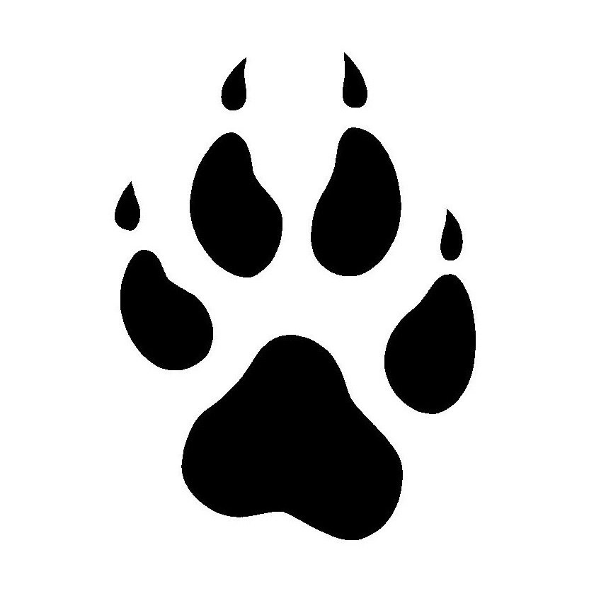 Coyote paw print clipart clip library library Wolf Paw Clipart | Free download best Wolf Paw Clipart on ClipArtMag.com clip library library