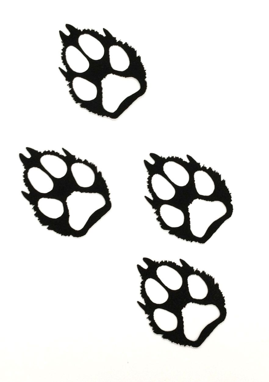 Clipart wolf paw print jpg transparent library wolf paw print clip art - Google Search | shapes - line | Wolf paw ... jpg transparent library