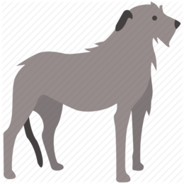 Clipart wolfhound clipart black and white library Irish Wolfhound clipart - 15 Irish Wolfhound clip art clipart black and white library