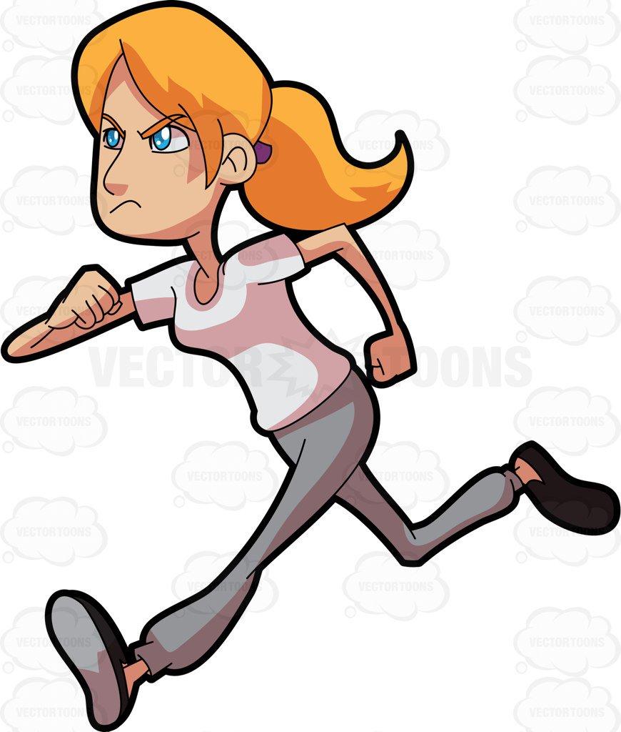 Sweaty jogger clipart banner download Running woman clipart 2 » Clipart Station banner download