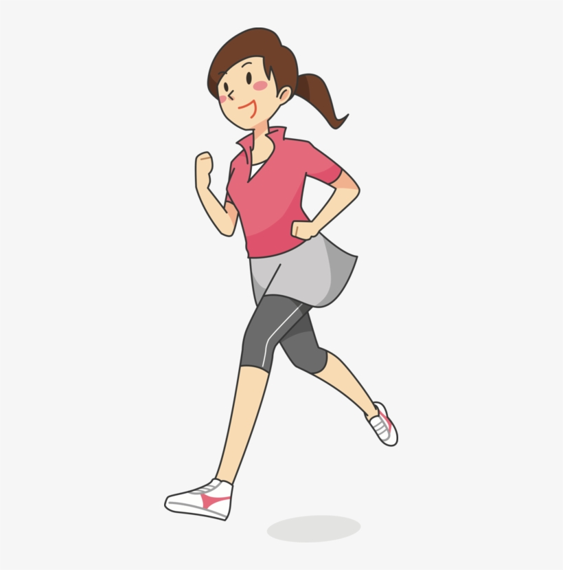 Clipart woman running vector black and white download Clip Art Women Woman Running Jogging - Woman Running Clipart ... vector black and white download