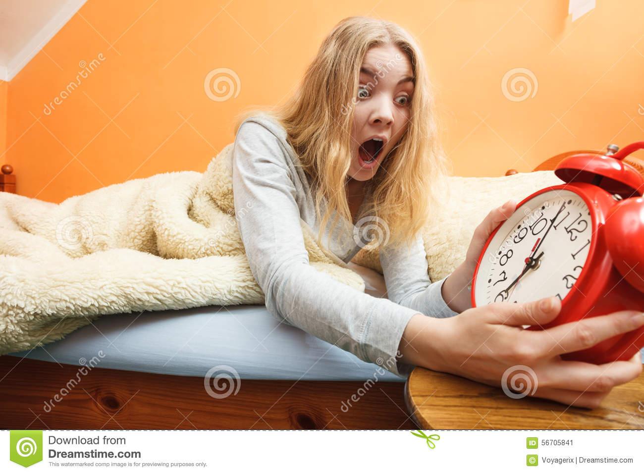 Clipart woman turning off alarm clip art black and white stock Turning Off An Alarm Clock Stock Photo - Image: 20288390 clip art black and white stock
