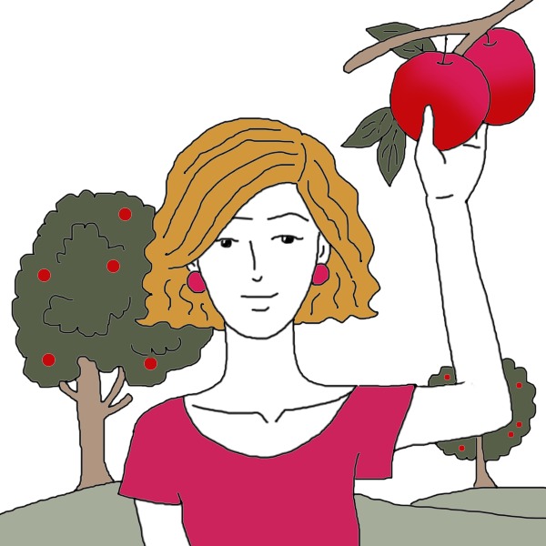 Clipart womry apple vector free Apple Dream Meaning - Interpretation And Meaning - Auntyflo.com vector free