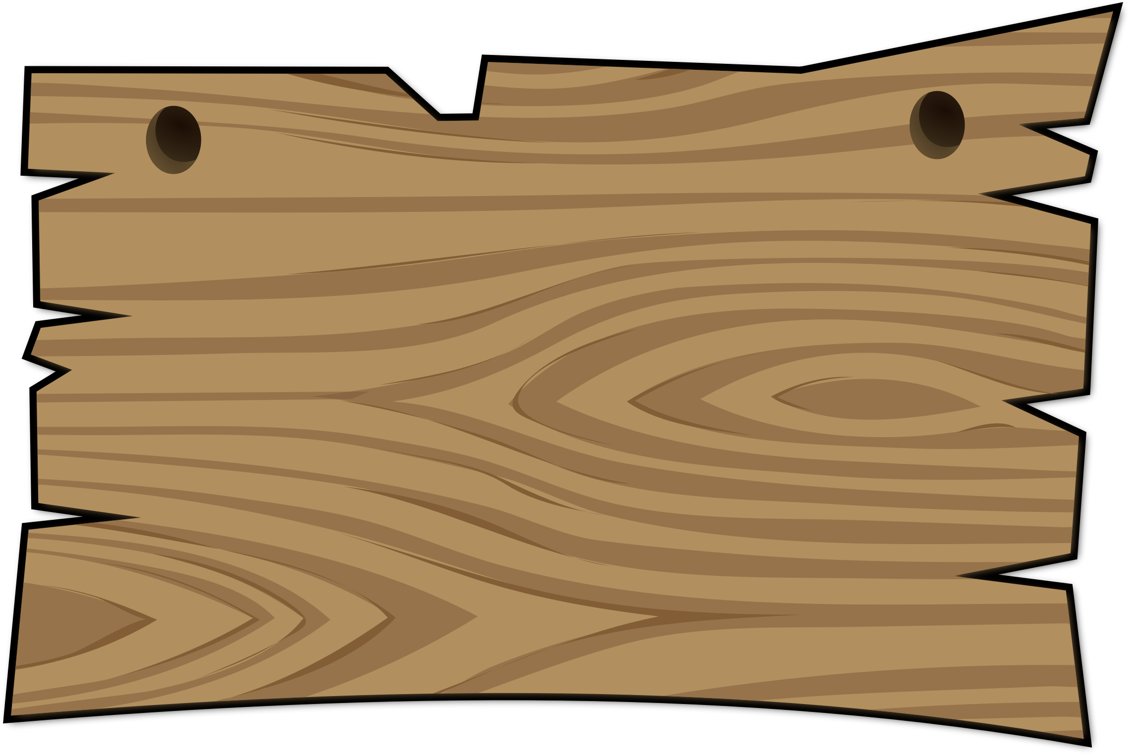 Wood board clipart