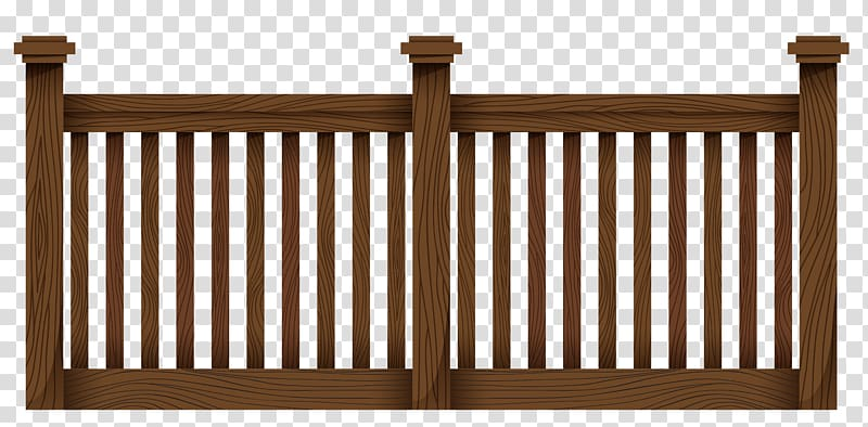 Clipart wood fence picture freeuse download Brown wooden fence, Synthetic fence Gate Chain-link fencing The Home ... picture freeuse download