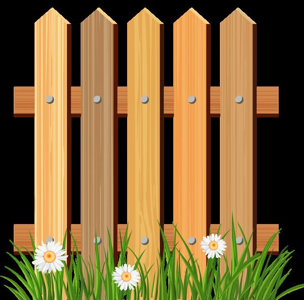 Clipart wood fence clip transparent library Pin by Eva Castellanos on Gallina Pintadita Birthday   Wooden garden ... clip transparent library