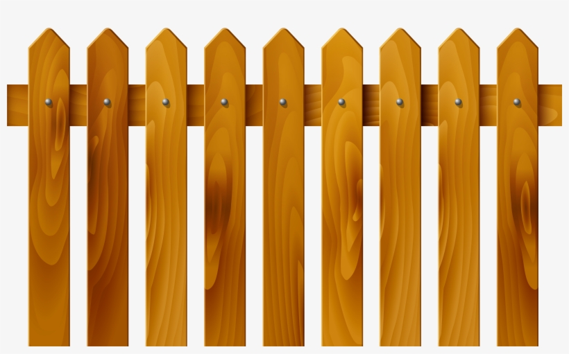 Clipart wood fence image library library Wooden Fence Fence Clipart - Free Transparent PNG Download - PNGkey image library library