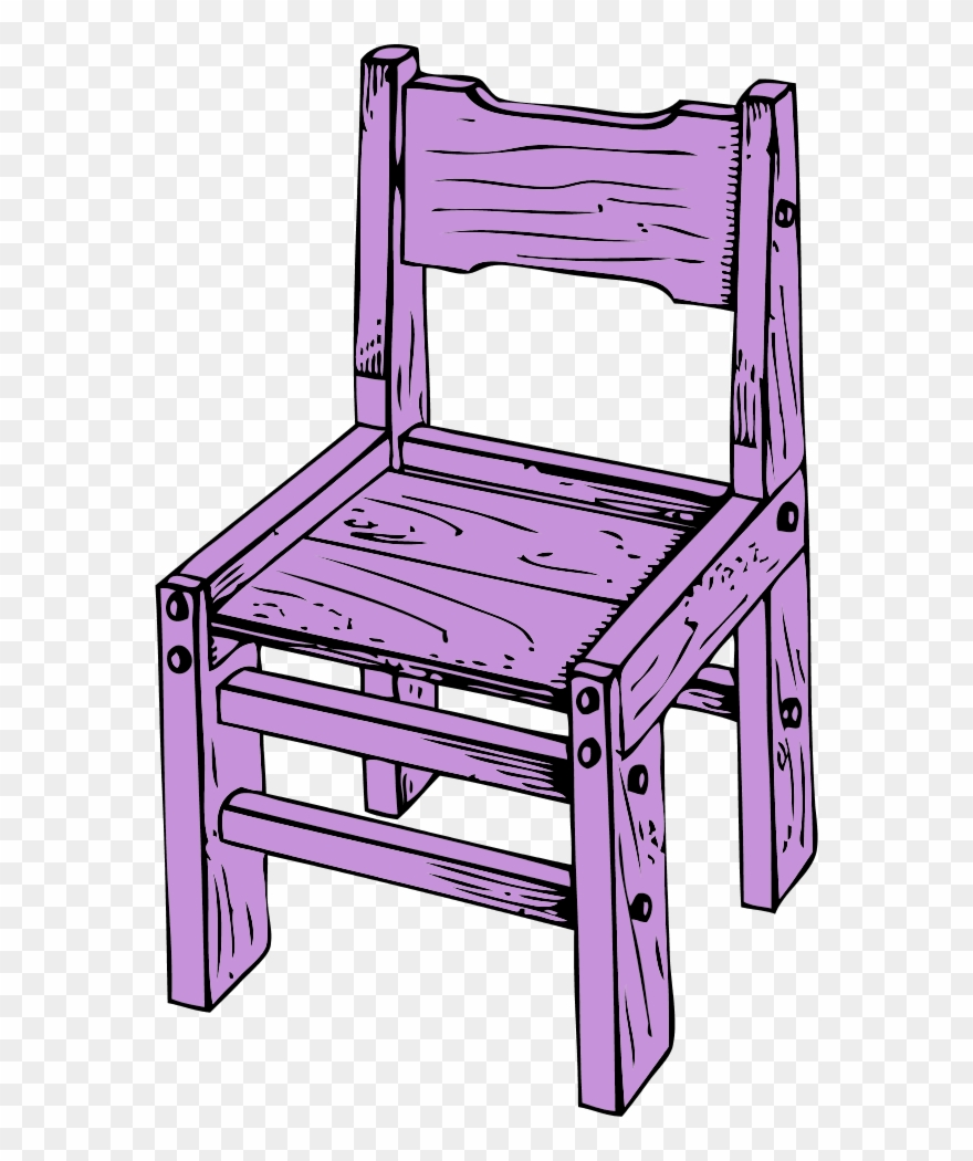 Clipart wooden chair black and white Wooden Chair Vector Clip Art - Wood Chair Clipart Png Transparent ... black and white