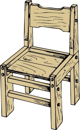 Clipart wooden chair clip Wooden Chair clip art clip arts, clip art - ClipartLogo.com clip