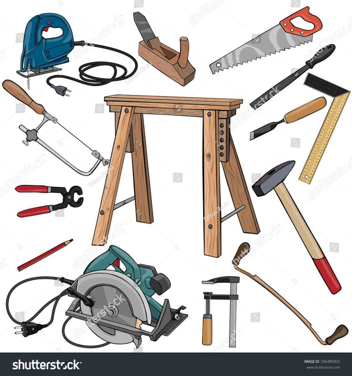 Clipart woodworking tools jpg black and white download Woodworking tools clipart 7 » Clipart Station jpg black and white download