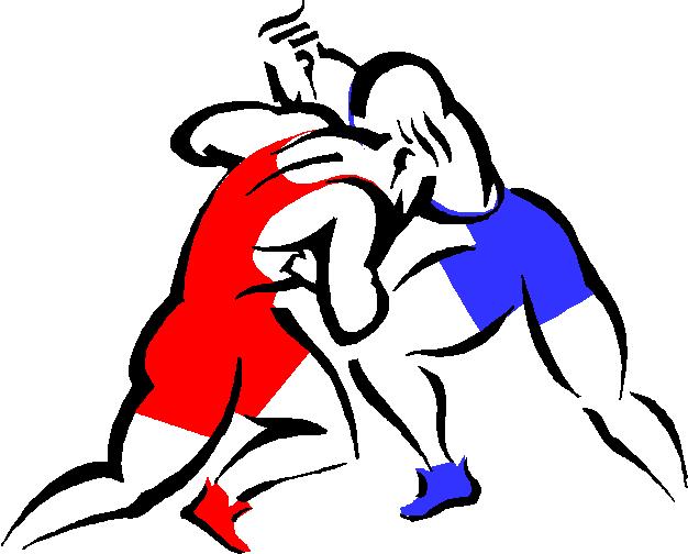 Clipart wrestler