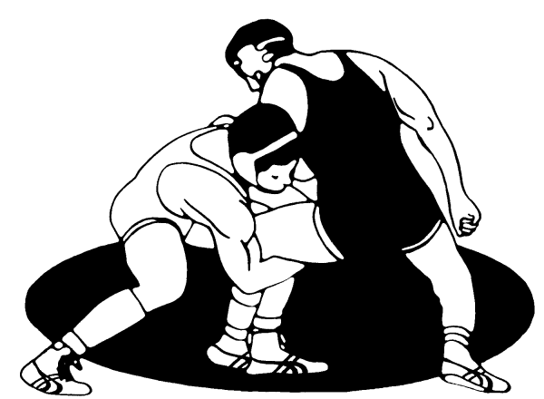 Wrestler pinning another wrestler black and white clipart clip royalty free library Wrestling clip art free download clipart images - Cliparting.com clip royalty free library