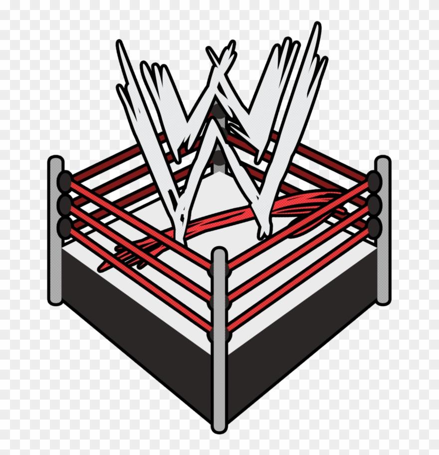 Clipart wwe wrestlers stock Wrestling Ring Logo - Wwe Logo In Ring Clipart (#2114851) - PinClipart stock