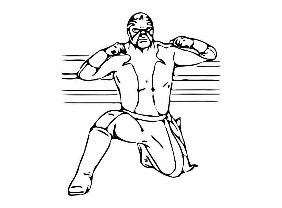 Clipart wwe wrestlers jpg transparent stock Masked Wrestler Clip Art At Vector Clip Art Png - Wwe Wrestler ... jpg transparent stock
