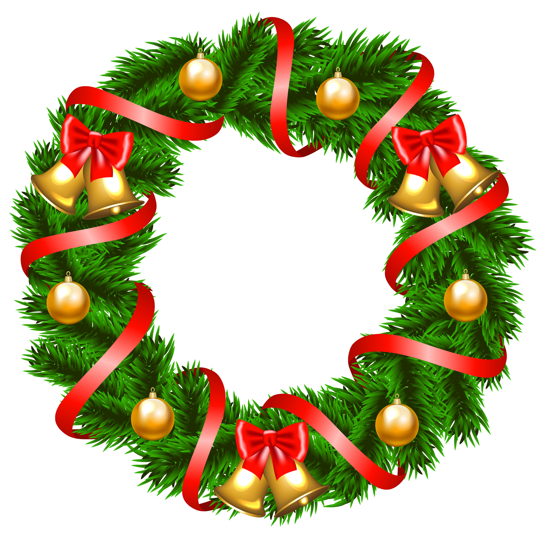 Clipart xmas wreath image freeuse stock Free Christmas Wreath Clipart | Free download best Free Christmas ... image freeuse stock