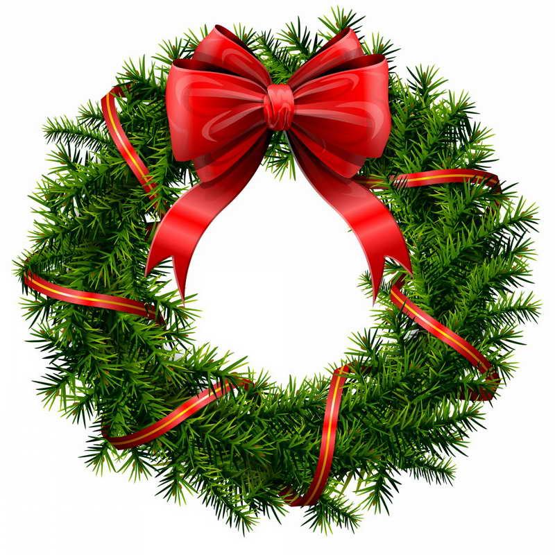 Free christmas wreath border clipart vector freeuse Free Christmas Wreath Cliparts, Download Free Clip Art, Free Clip ... vector freeuse