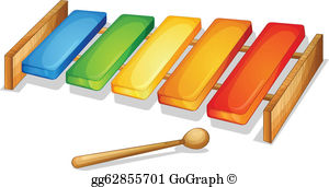Clipart xylophone banner free download Xylophone Clip Art - Royalty Free - GoGraph banner free download