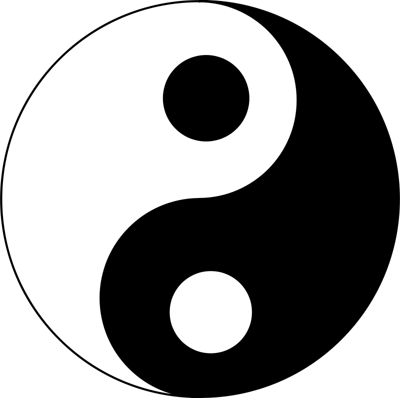 Yinyang clipart png download Free Clipart: Yin-yang 2 | Anonymous png download
