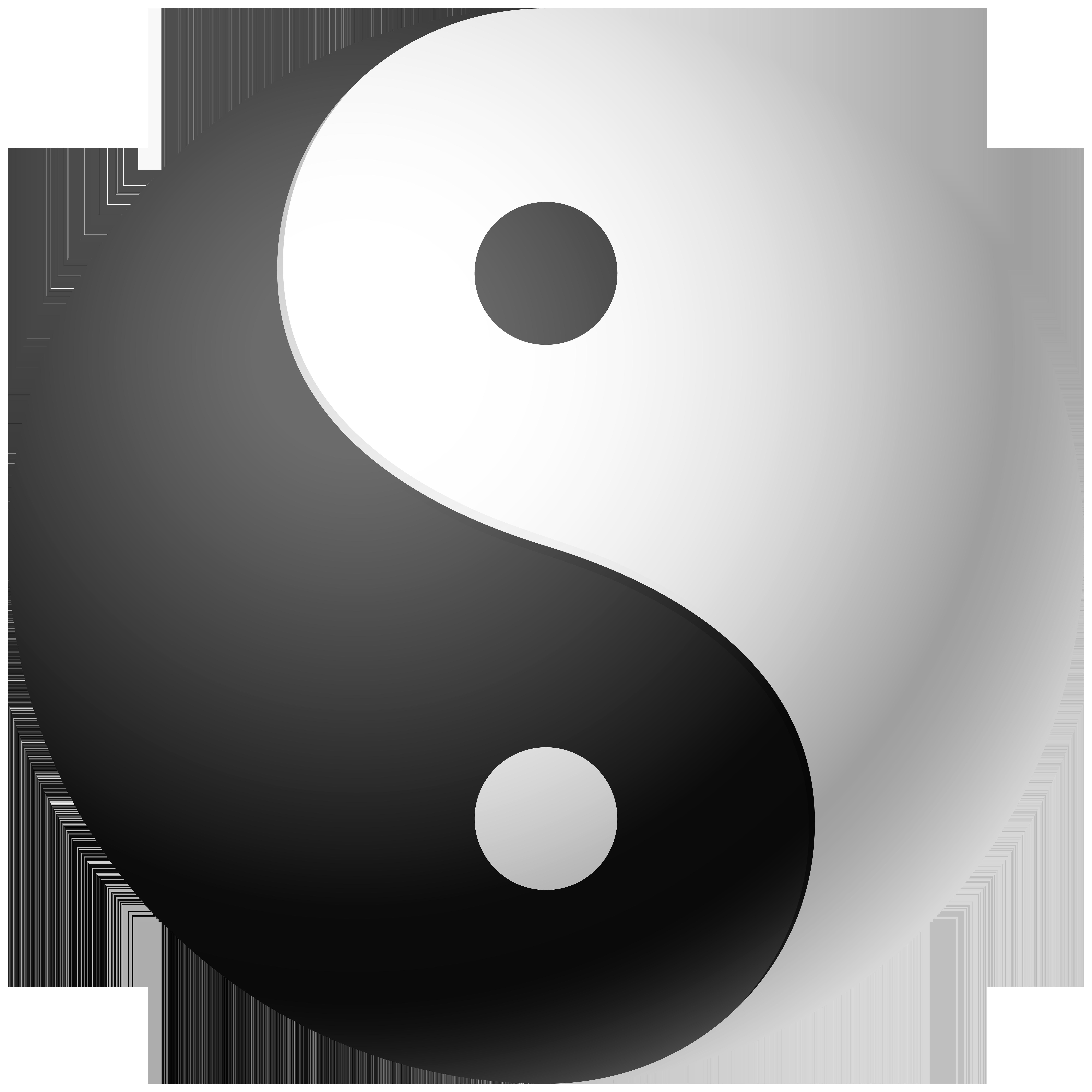 Clipart yang vector royalty free Yin and Yang Clip Art PNG Image | Gallery Yopriceville - High ... vector royalty free