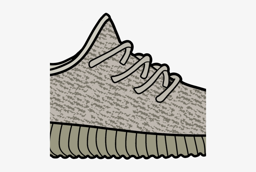 Clipart yeezy picture freeuse download Moonrock Yeezy 350 Boost Sticker - Yeezy Boost 350 Clipart - Free ... picture freeuse download