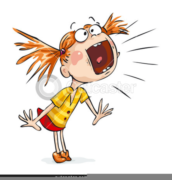 Clipart yelling image freeuse library Girl Yelling Clipart | Free Images at Clker.com - vector clip art ... image freeuse library
