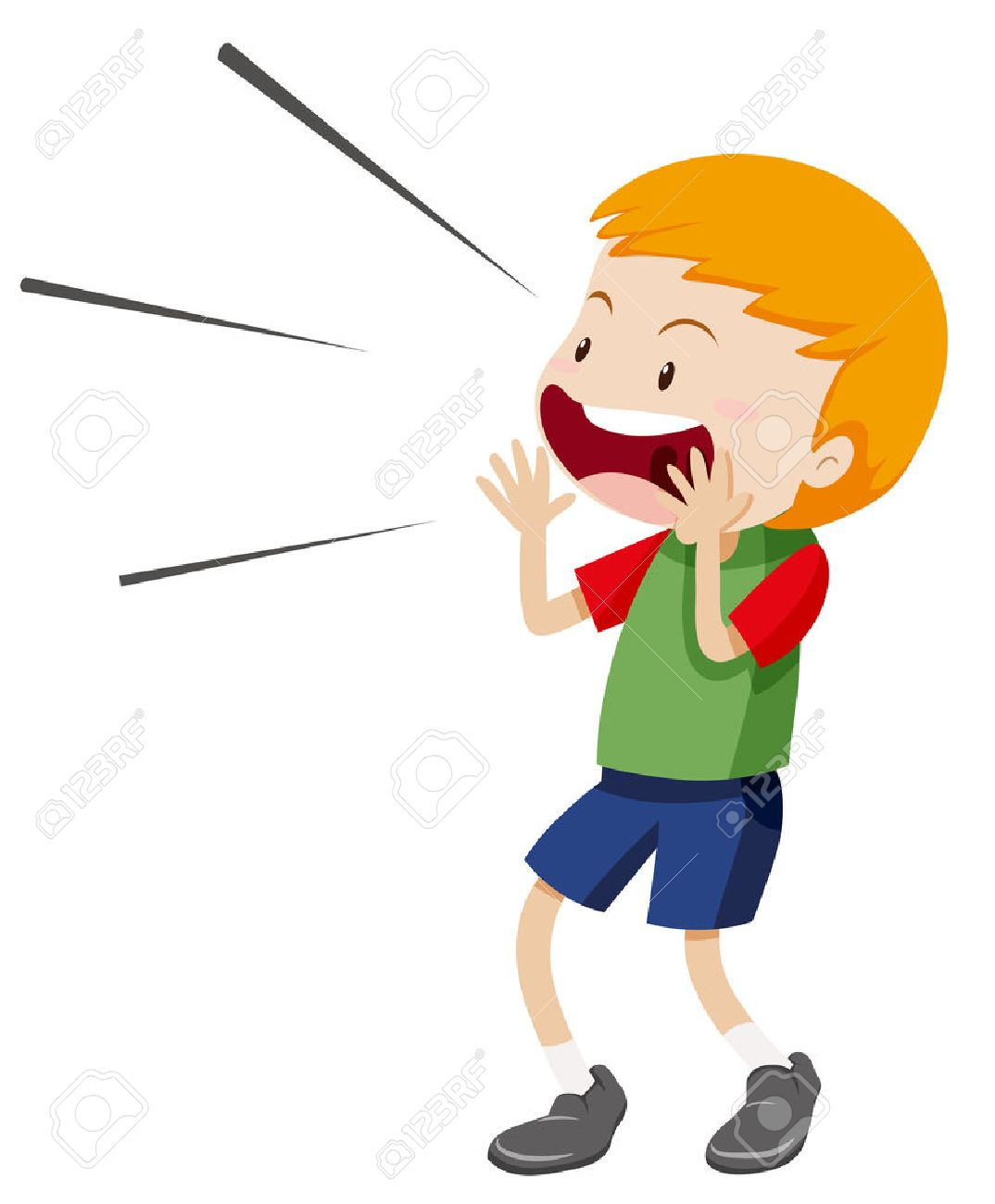 Clipart yelling png free stock Kid yelling clipart 4 » Clipart Station png free stock