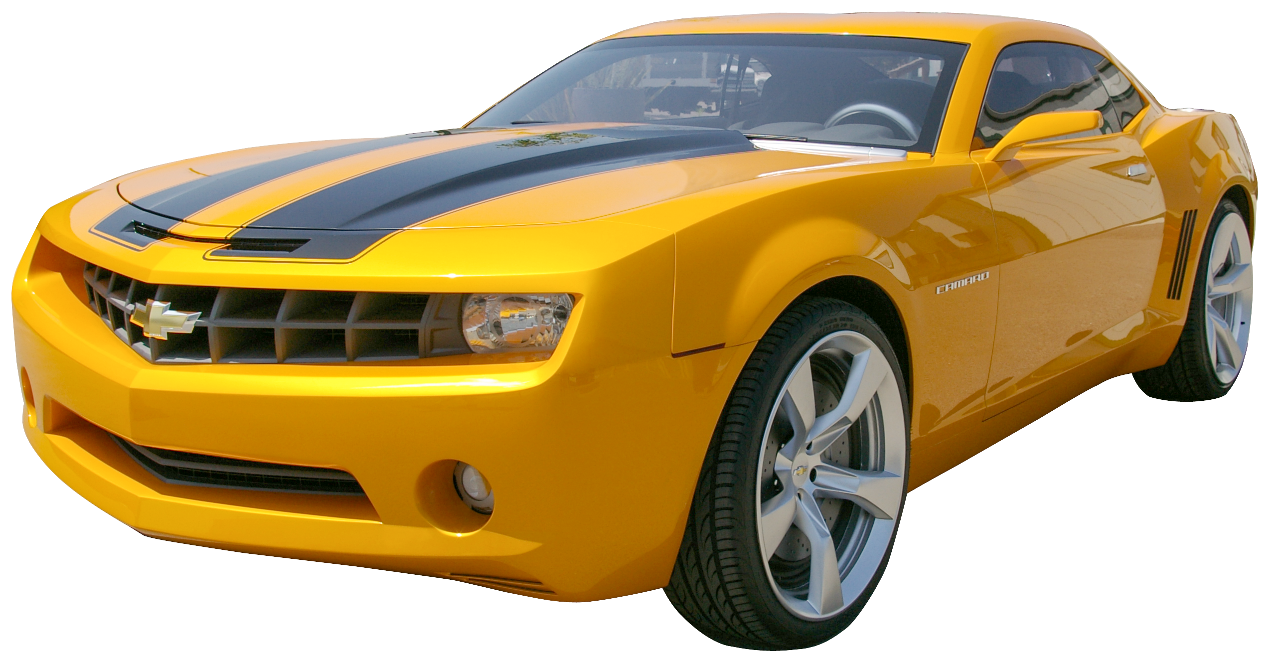 Clipart yellow car png freeuse stock Yellow Camaro PNG Clip Art - Best WEB Clipart png freeuse stock