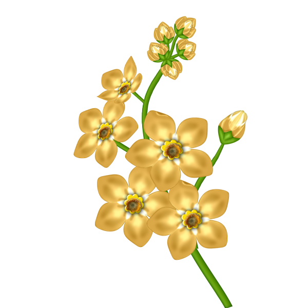 Yellow clipart flower clip freeuse download Yellow Flower Transparent Clipart | Gallery Yopriceville - High ... clip freeuse download