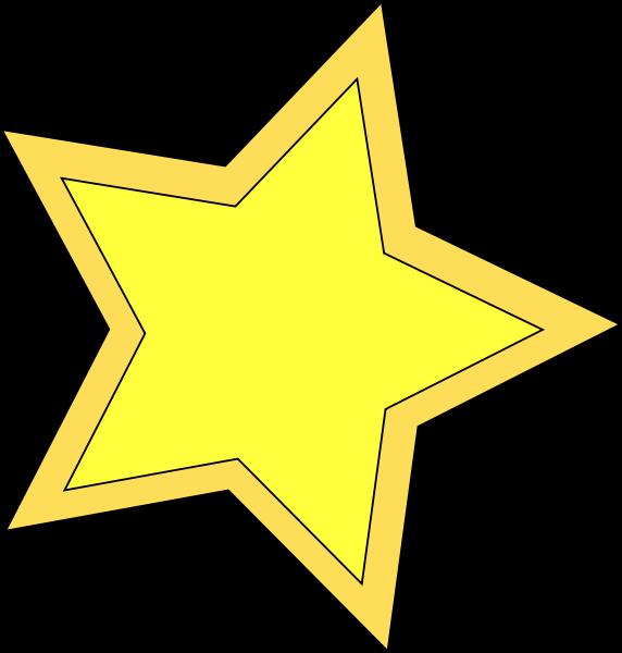 Clipart yellow star jpg free stock Medium sized star clipart jpg free stock