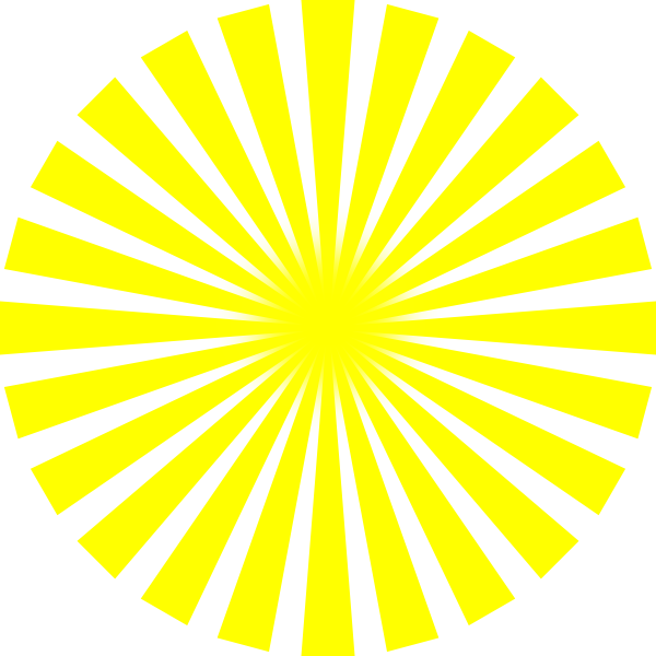 Clipart yellow sun png library Yellow Sun Rays Clip Art at Clker.com - vector clip art online ... png library