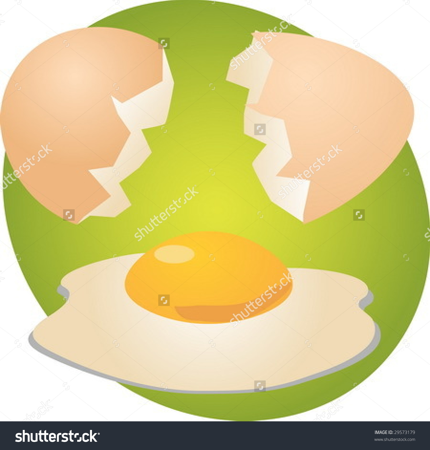 Clipart yolk graphic download Egg Illustration Clipart Open Shell Yolk Stock Vector 29573179 ... graphic download