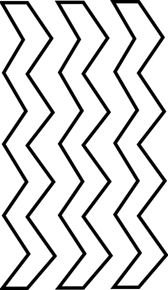 Clipart zigzags png black and white Zigzag black and white clipart 3 » Clipart Portal png black and white