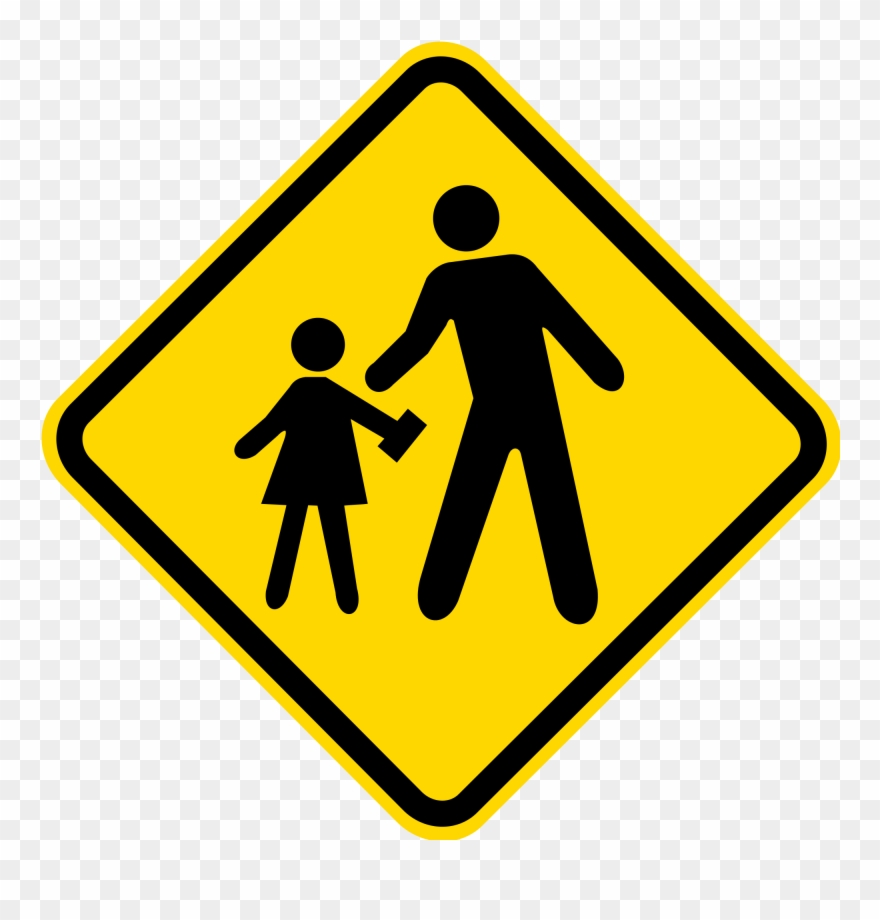 Clipart zone vector free School-zone - Traffic Sign Clip Art - Png Download (#3777293 ... vector free