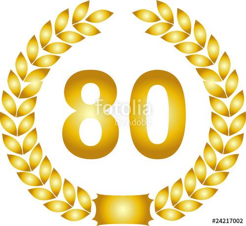 Clipart zum 80 geburtstag freeuse jubiläums lorbeerkranz 60 jahre