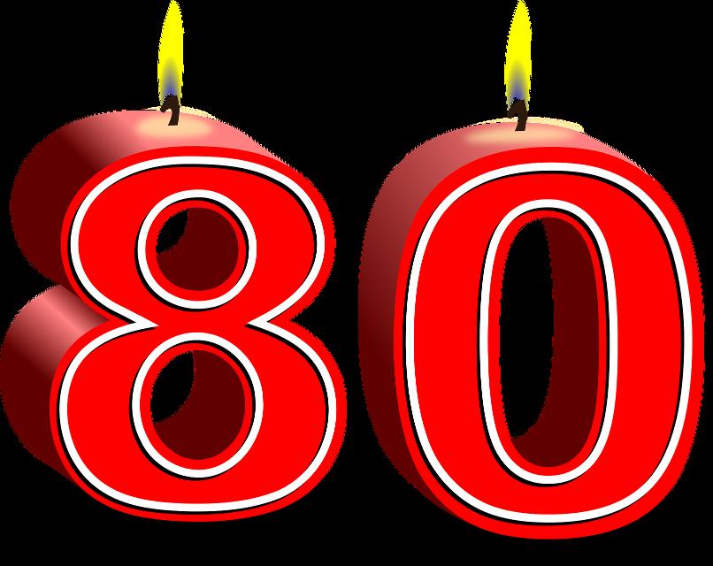 Clipart zum 80 geburtstag picture transparent download 80 er geburtstag 7 » Happy Birthday World picture transparent download
