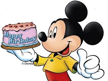 Clipart zum 80 geburtstag banner library stock Disney Jubil um Micky Maus Feiert 80 Geburtstag Panorama Clipart ... banner library stock