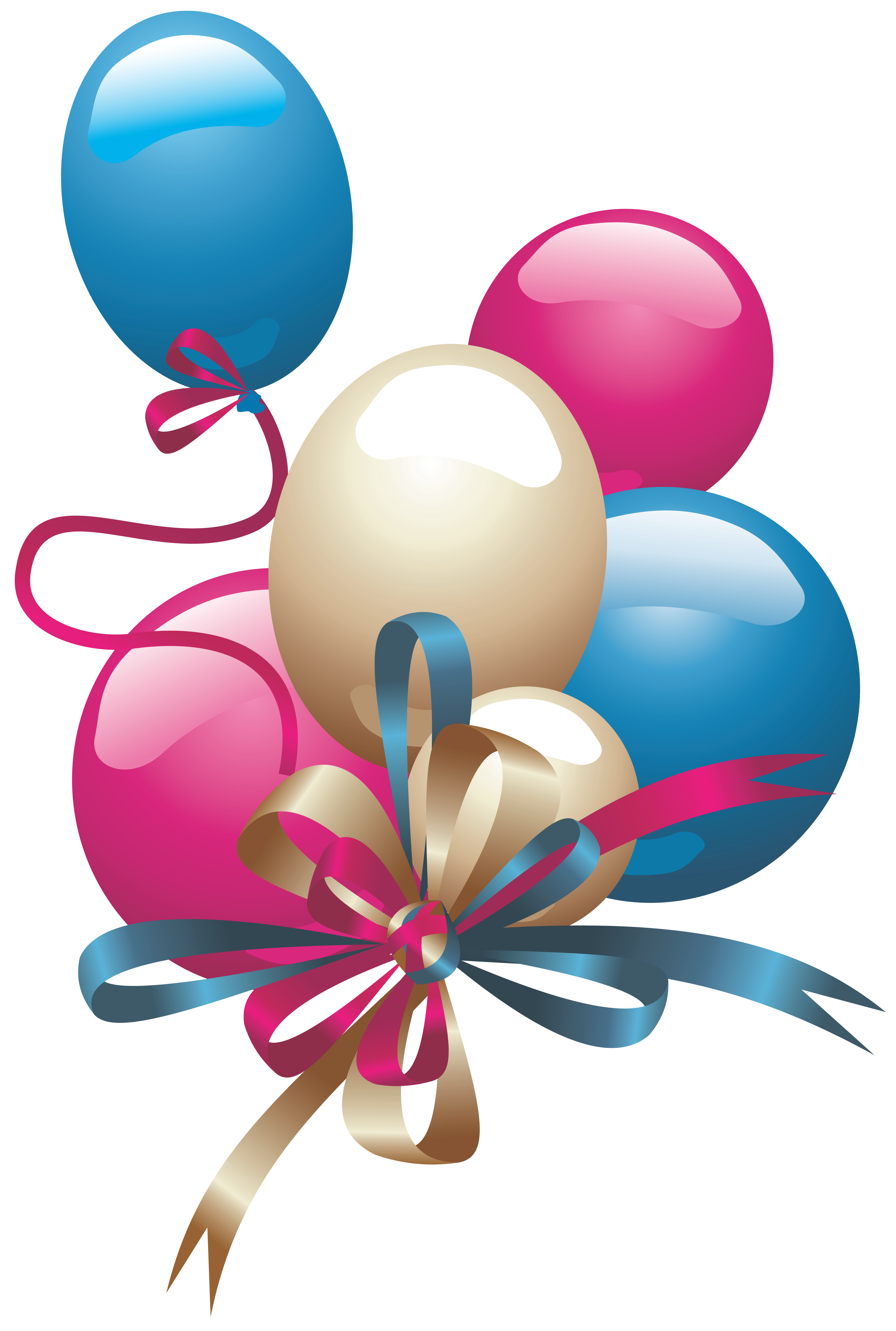 Clipart zum geburtstag svg royalty free library Balloons PNG Clipart | Childs Birthday/Birth | Pinterest svg royalty free library