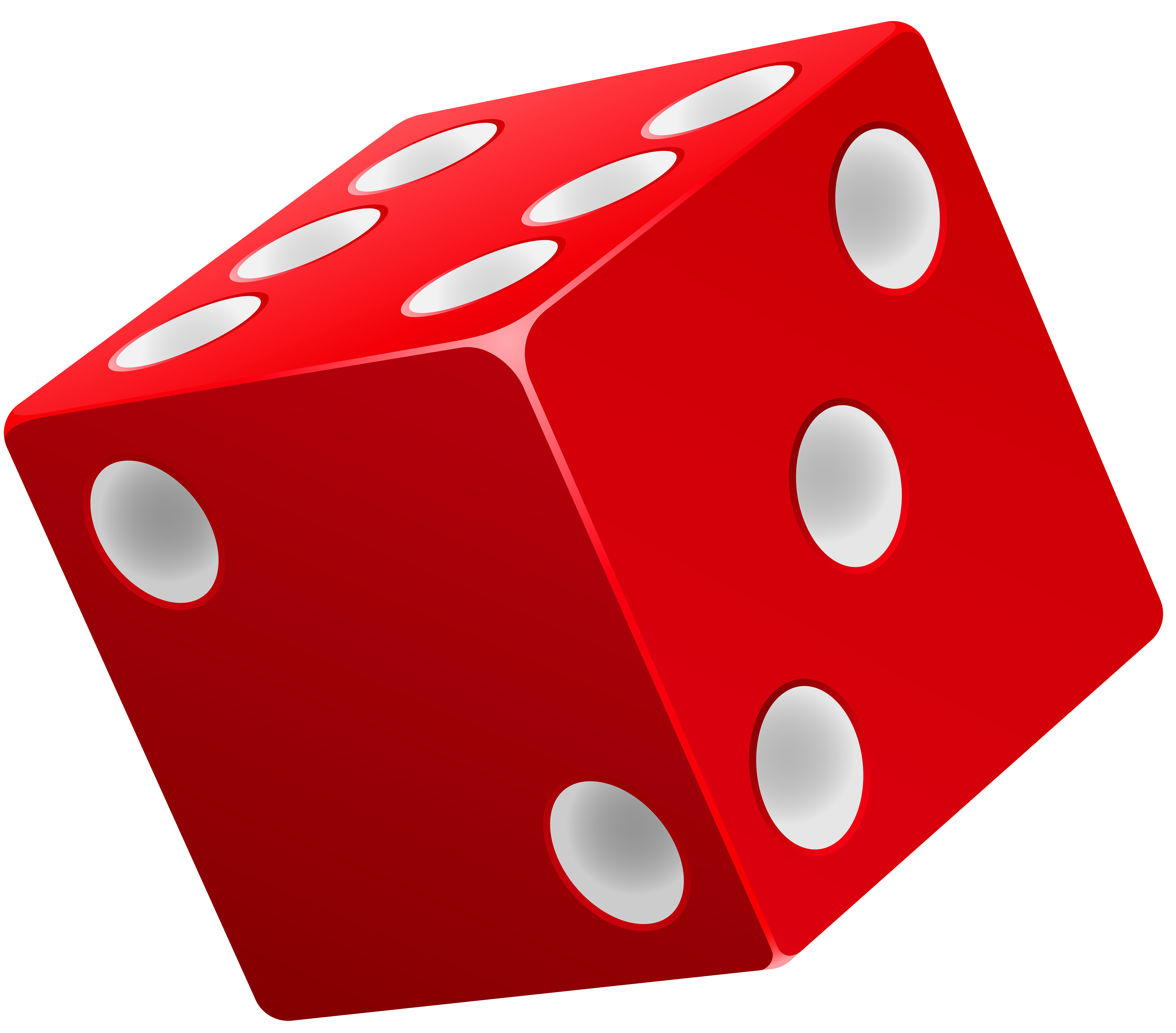 Dice images clipart png library library Dice Red PNG Clip Art - Best WEB Clipart png library library
