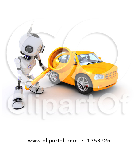 Clipartof search vector black and white stock Royalty-Free (RF) Robot Clipart, Illustrations, Vector Graphics #8 vector black and white stock