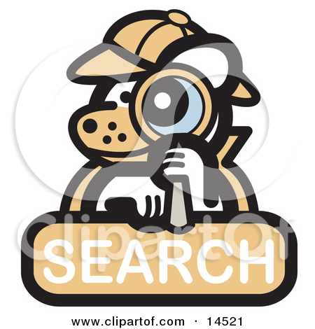 Clipartof search banner free stock Royalty-Free (RF) Detective Clipart, Illustrations, Vector Graphics #1 banner free stock