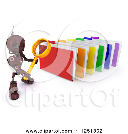 Clipartof search png royalty free library Clipart of a 3d Secure File Folder with a Security Key and Lock ... png royalty free library