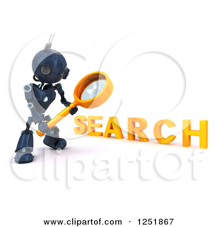 Clipartof search graphic black and white Royalty-Free (RF) Robot Clipart, Illustrations, Vector Graphics #13 graphic black and white