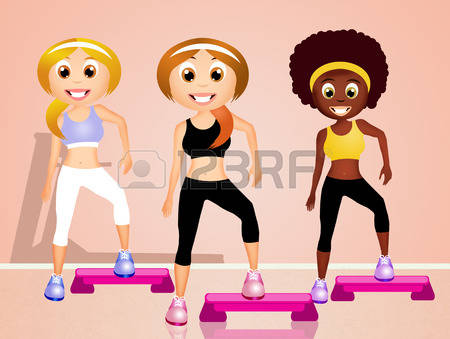 Cliparts aerobic vector freeuse library 893 Step Aerobics Stock Illustrations, Cliparts And Royalty Free ... vector freeuse library