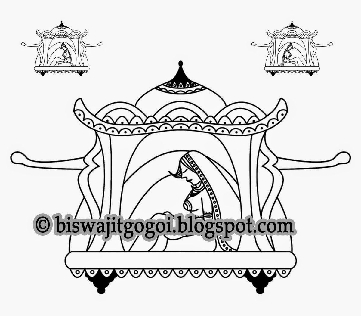 Wedding clipart coloring jpg black and white stock Indian Wedding Clipart Indian Wedding Symbol Hindu Wedding Symbol ... jpg black and white stock
