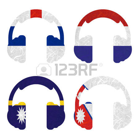Cliparts antilles.  netherlands stock vector