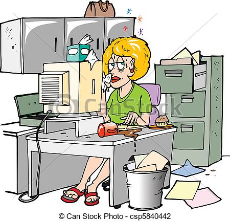 Cliparts arbeit png library Secretary Clip Art and Stock Illustrations. 13,721 Secretary EPS ... png library