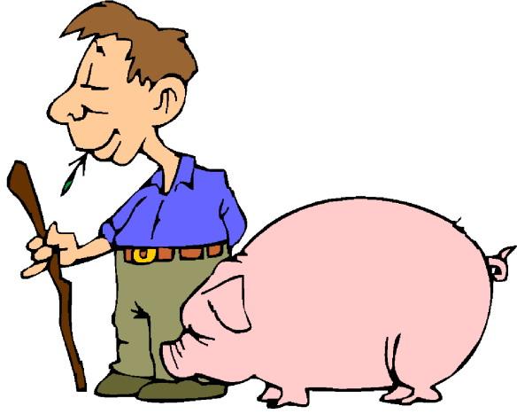 Cliparts bauer. Clipart clipartfox pigs clip